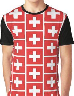 Swiss Flag Graphic T-Shirt