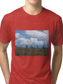 Fence to Heaven Tri-blend T-Shirt