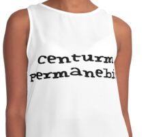 Centrum Permanebit Contrast Tank