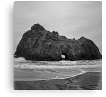 Pfeiffer Beach II BW Canvas Print