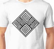 Squared Spiral Unisex T-Shirt