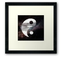 Zen in Space Framed Print