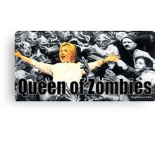Queen of Zombies Canvas Print