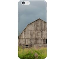 Abandoned wooden barn - Fitzroy Harbour, Ontario iPhone Case/Skin
