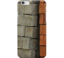Concrete and Adobe Bricks iPhone Case/Skin
