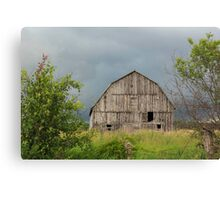 Abandoned wooden barn - Fitzroy Harbour, Ontario Canvas Print