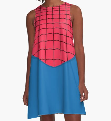 Arachnagirl A-Line Dress