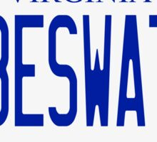Cabeswater License Plate Sticker