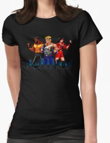 STREETS OF RAGE - AXEL-BLAZE-ADAM - CITY (2) Womens Fitted T-Shirt