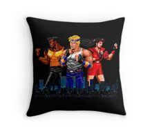 STREETS OF RAGE - AXEL-BLAZE-ADAM - CITY (2) Throw Pillow