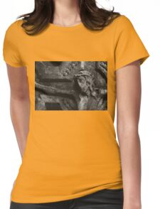 Stone Christ Womens Fitted T-Shirt