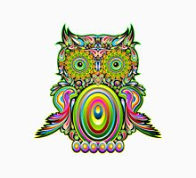 Owl Colorfull Psychedelic Trippy Unisex T-Shirt