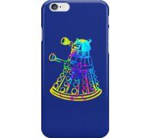 Colorful Splatter Paint Dalek iPhone Case/Skin