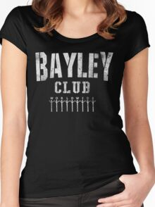 Bayley Club  Women's Fitted Scoop T-Shirt
