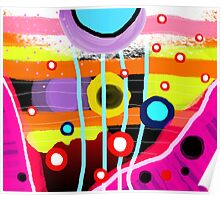 The most desigual ugly abstract art in the world Poster