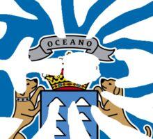 CANARY ISLAND SPIDER FLAG OCEANO  Sticker