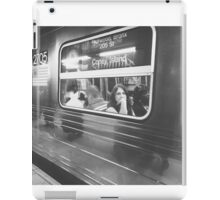 Train thoughts iPad Case/Skin