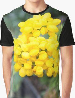 Starburst yellow flowers Graphic T-Shirt