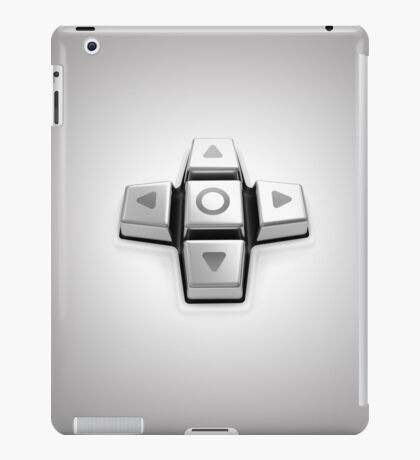 gaming console controller or joystick controller buttons iPad Case/Skin