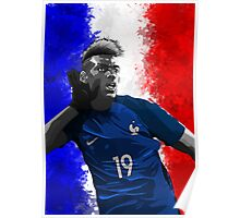 Paul Pogba - France. Poster