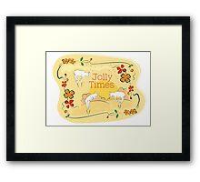 Jolly Times Framed Print