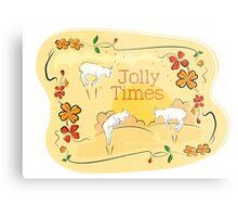 Jolly Times Metal Print