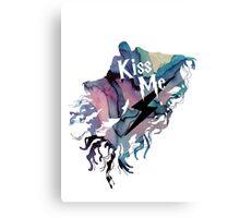 KISS ME DEMENTOR Canvas Print