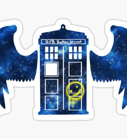 Superwholock Space v2 Sticker