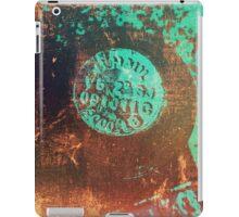 Weathered Metal iPad Case/Skin
