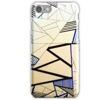 Electricity Pattern iPhone Case/Skin