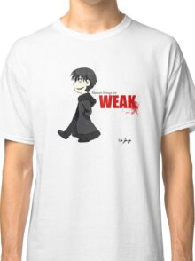Human Beings Are Weak - Izaya Orihara Shirt Classic T-Shirt