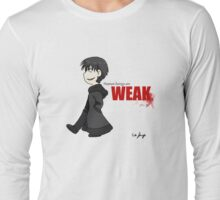 Human Beings Are Weak - Izaya Orihara Shirt Long Sleeve T-Shirt