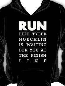 RUN - Tyler Hoechlin 2 T-Shirt
