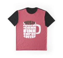 A damn fine cup of coffee - Twin Peaks Graphic T-Shirt