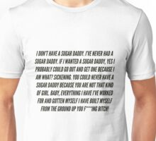 Shangela's Sugar Daddy Speech- Clean Unisex T-Shirt