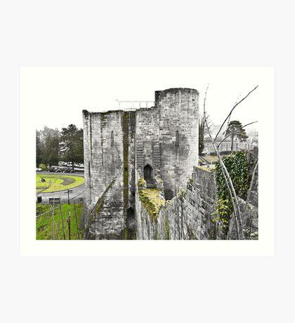Tonbridge Castle Art Print