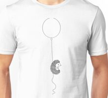 Hedgehog and Balloon Unisex T-Shirt