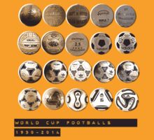 World Cup Footballs by Thomas Orrow