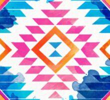 Navajo triangles Sticker