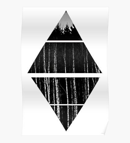 Air&Earth (AV) Trees Poster