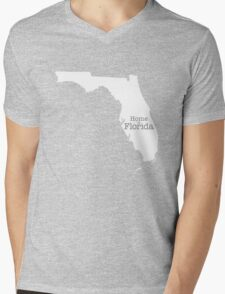 Home is Florida Mens V-Neck T-Shirt