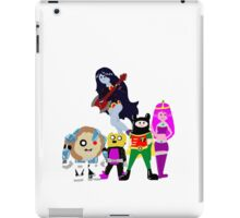 Teen Titans Time iPad Case/Skin
