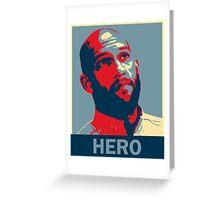 Tim Howard - Hero Greeting Card