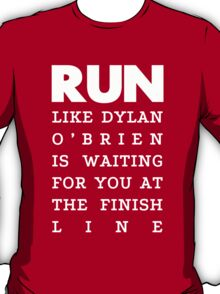 RUN - Dylan O'Brien 2 T-Shirt
