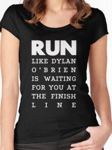 RUN - Dylan O'Brien 2 Women's Fitted Scoop T-Shirt