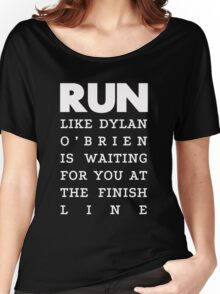 RUN - Dylan O'Brien 2 Women's Relaxed Fit T-Shirt