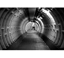 Along Greenwich Foot Tunnel Photographic Print