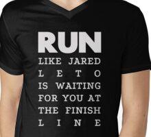 RUN - Jared Leto 2 Mens V-Neck T-Shirt