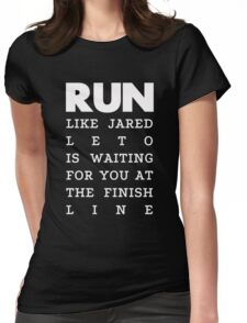 RUN - Jared Leto 2 Womens Fitted T-Shirt