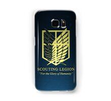 Attack on Titan Scouting Legion 3D Samsung Galaxy Case/Skin